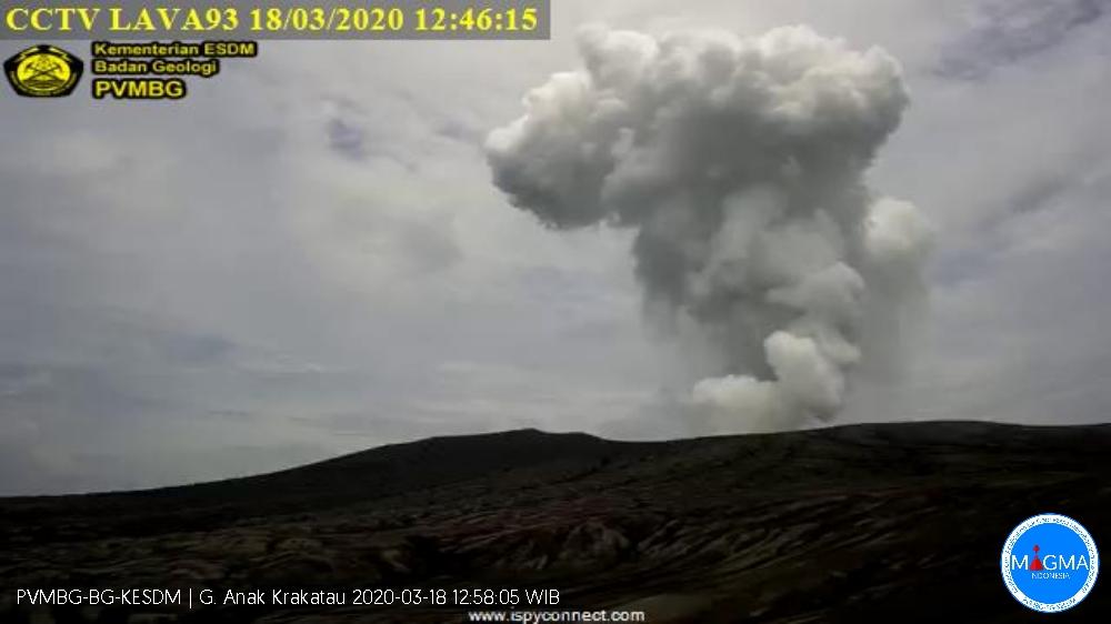 Letusan Anak Krakatau