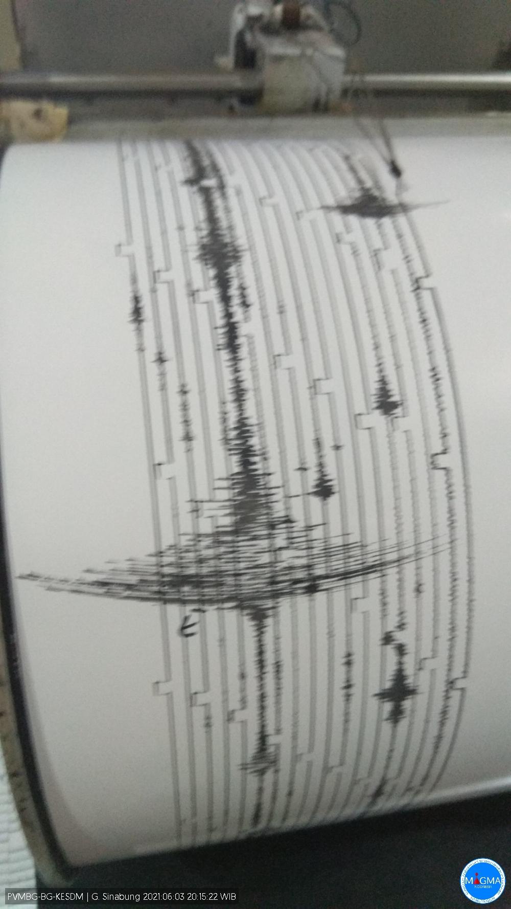 Letusan Sinabung