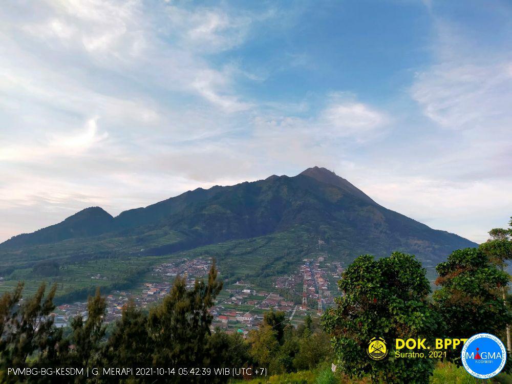 Merapi, Kamis - 14 Oktober 2021