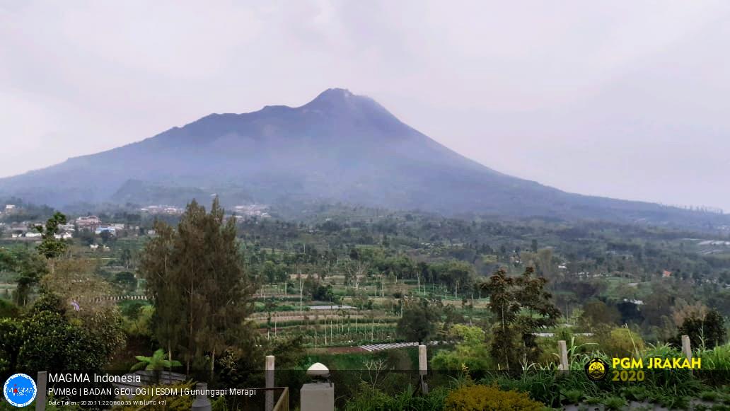 Merapi, Minggu - 22 November 2020