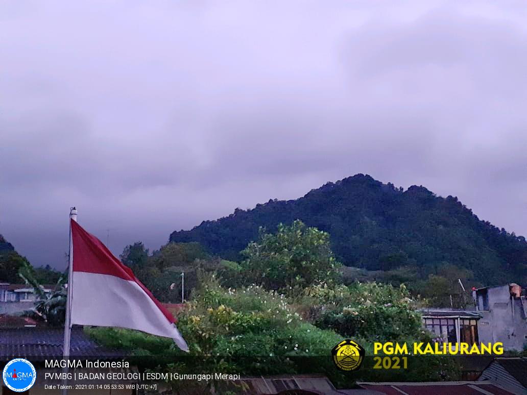 Merapi, Kamis - 14 Januari 2021