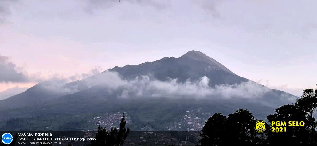 Merapi, Rabu - 07 Juli 2021