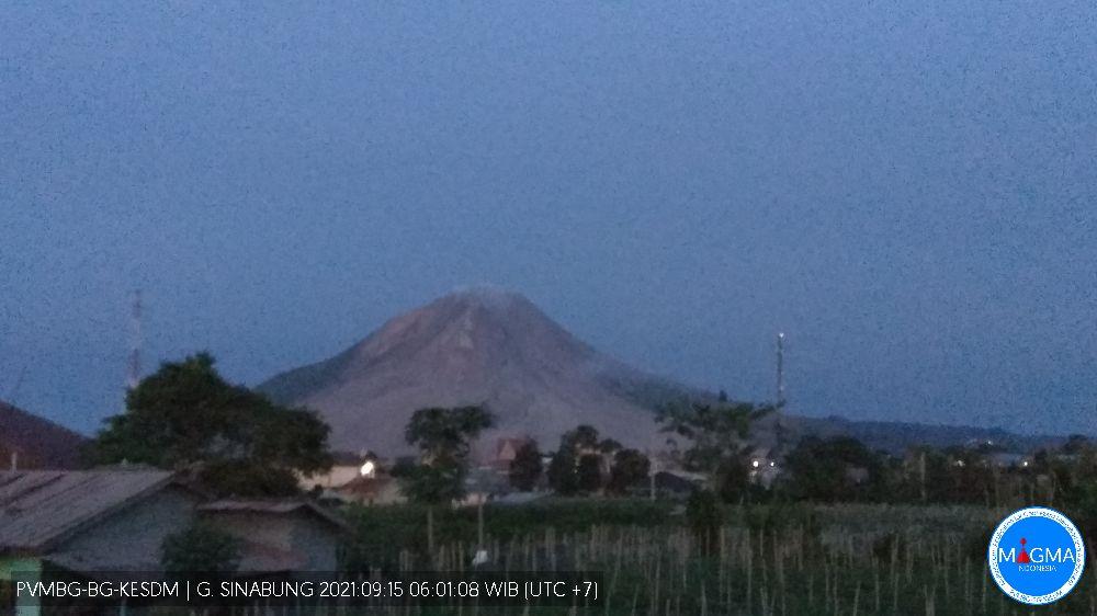 Sinabung, Rabu - 15 September 2021